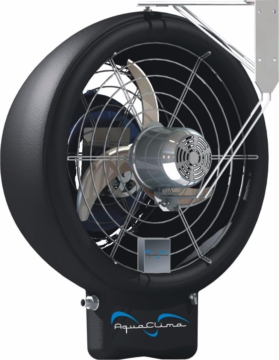 Climatizador de ar oscilante com aspersor de gua - Aspersor de agua ...