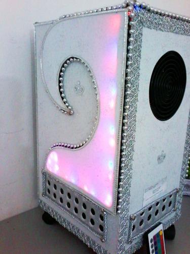 climatizador e abajur artesanal