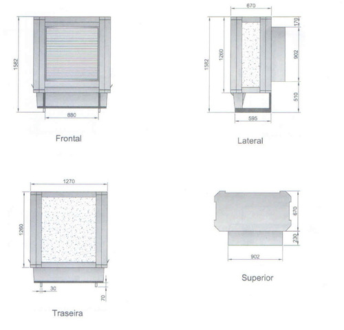 climatizador ecobrisa  -  p até 250 m². revisados c garantia