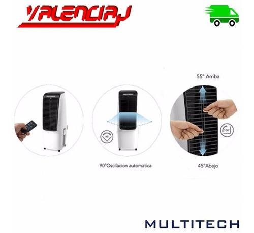 climatizador enfriador de aire portatil multitech mt-aic2820