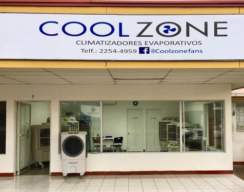 climatizador evaporativo cz-2025 marca cool zone