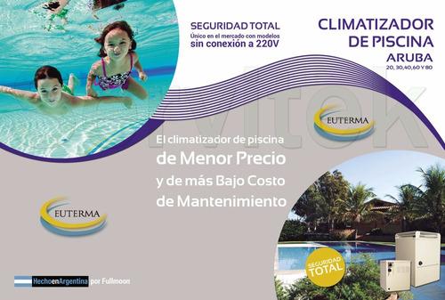 climatizador piscina euterma aruba 80 envío gratis caba gba