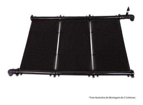 climatizador piscina solar completo pileta kit 48 m2 teksol