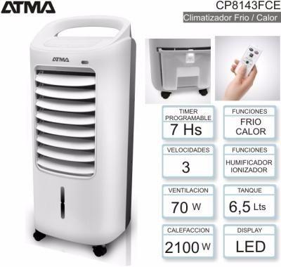 climatizador portatil atma frio calor envio gratis todo pais
