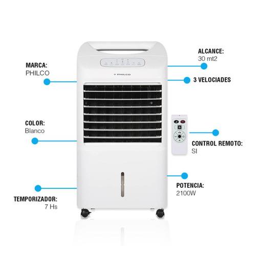 climatizador portatil de aire philco calor y frio ac-ph40