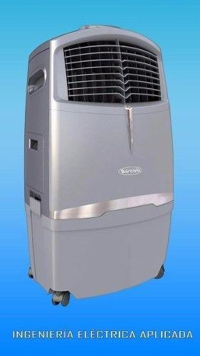 climatizador portátil digital acondiciona frío barcala p581.