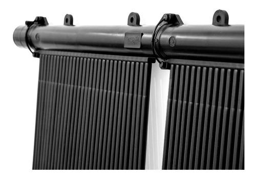 climatizador solar piletas piscinas kit 18m2 teksol completo