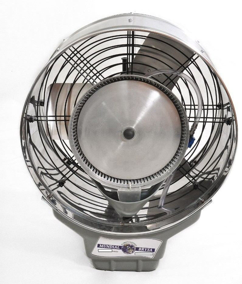 Climatizador ventilador 50cm umidificador de parede a gua - Ventilador de agua ...