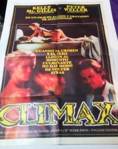 climax giddis weller afiche poster de la pelicula