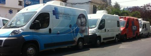 clinica dental movil y equipo portátil, arriendo y vendo