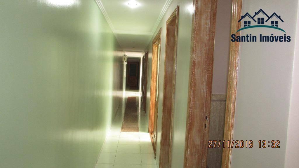 clinica médica com 07 salas,recepção,01 banheiro,03 lavabos à venda, 125 m² por r$ 487.700 - santo antônio - são caetano do sul/sp - sa0009