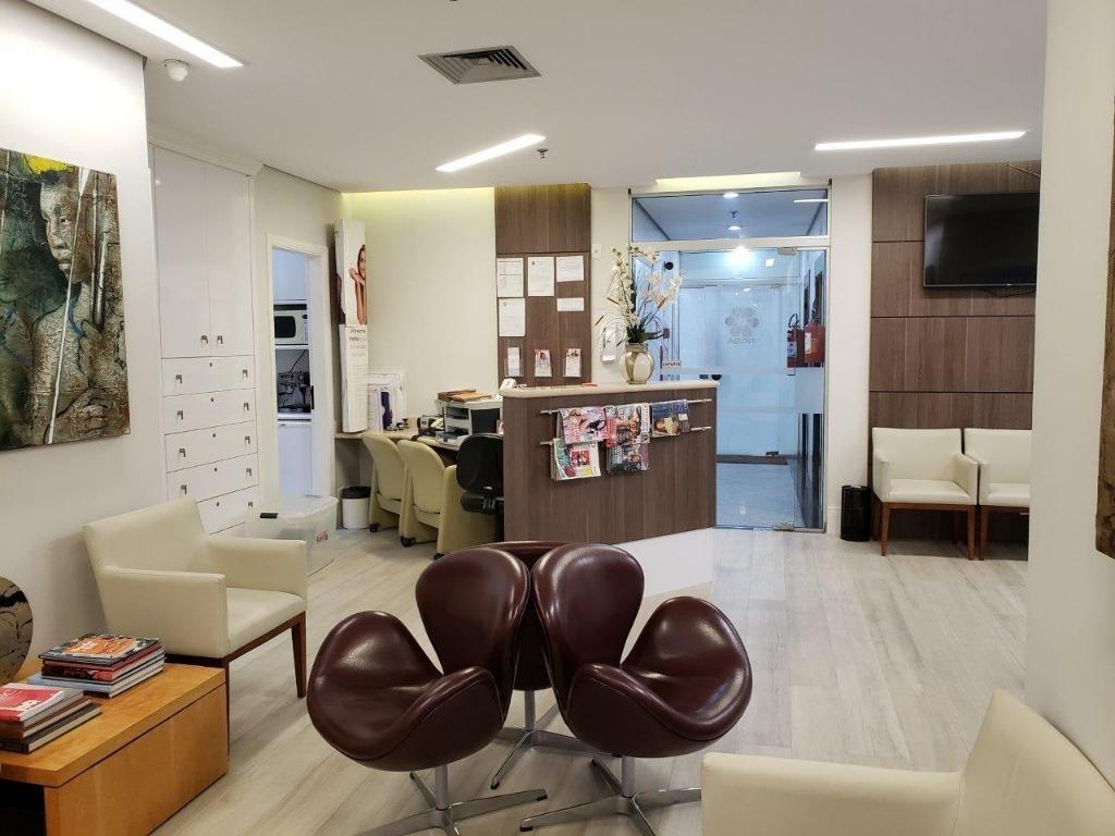 clínica médica à venda, 97 m² por r$ 1.260.000 - campo belo - são paulo/sp - cj4905