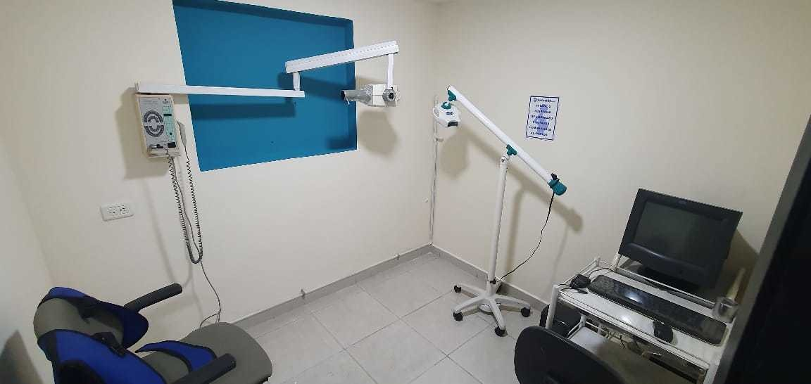 clínica odontológica con 4 consultorios