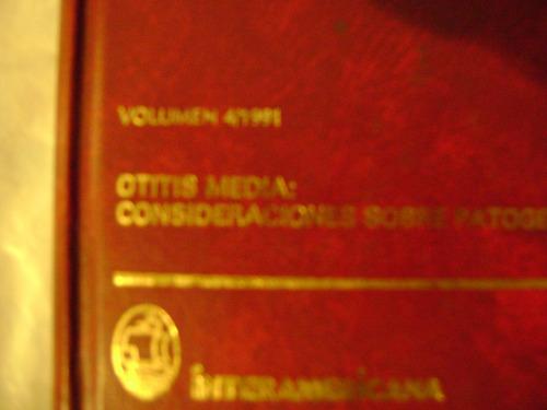 clinicas otorrinolaringolicas de norteamerica.  volumen 4/91