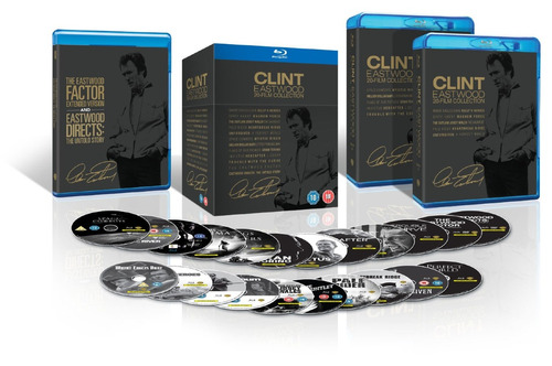 clint eastwood 20-film collection blu-ray edición colección