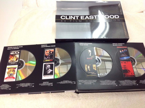 clint eastwood 40 film collection boxset en dvd importado