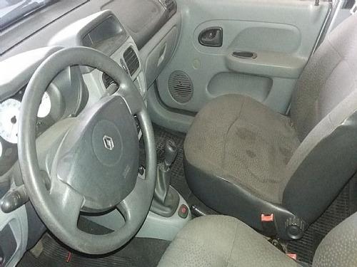 clio sedan 1.6 authentique 16v 2008 - aceito troca