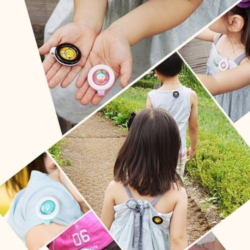 clip botón repelente mosquitos para bebé bikit guard 1p full
