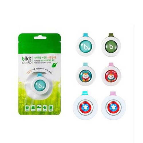 clip botón repelente mosquitos para bebé bikit guard 1pz ful