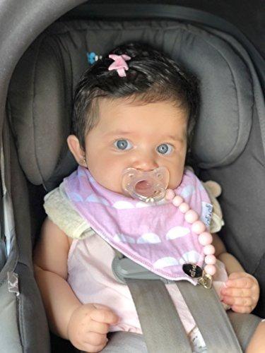 clip chupete para bebé