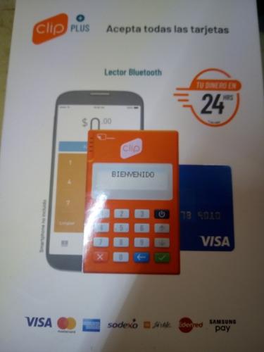 clip ...cobro con cualquier tarjeta de crédito y débito..