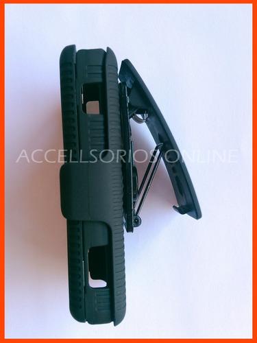 clip combo protector huawei lunnar stella u3220 negro vbf !!