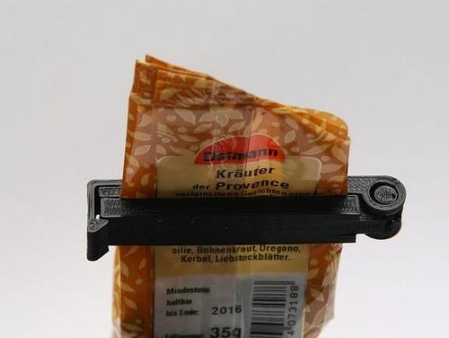 clip de 6.5 cm bolsas mantener fresco resellar colores