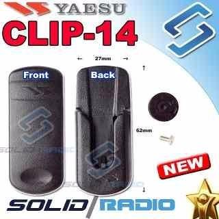 clip de cinto yaesu ft-270 - vx-6 - vx-7 - 100 % original