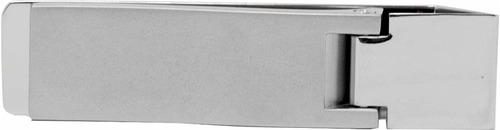 clip de dinero con bisagras de acero inoxidable plata mate d