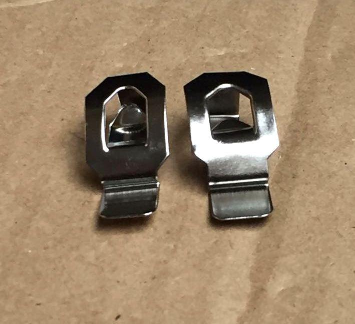 Clip Gancho Metalico P/portarretratos Cuadro X 200 Unidades - $ 480 ...