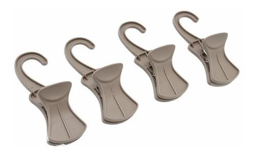 clip gancho para bolsas, botas, accesorios 4 pzs closet