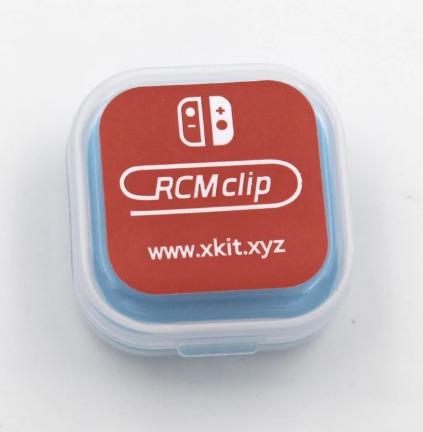 clip jig modo rcm para nintendo switch (original)