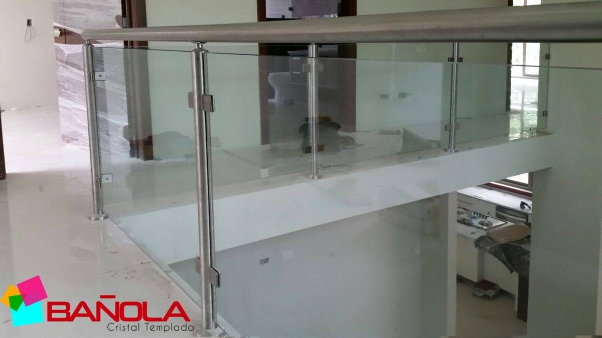 Clip o conector muro vidrio para cristal templado 8 a 12mm for Muro cristal
