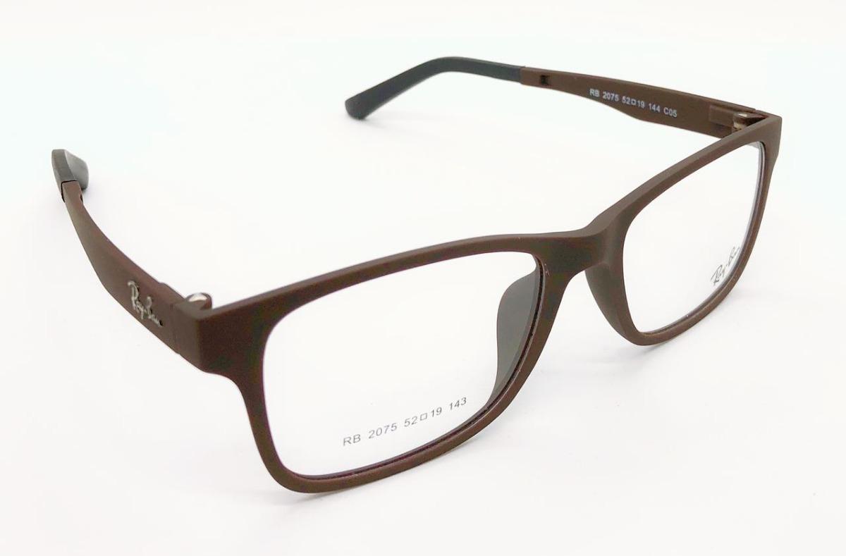 6cc6c677da223 clip on armação masculina e feminino grau óculos sol+brinde. Carregando  zoom.
