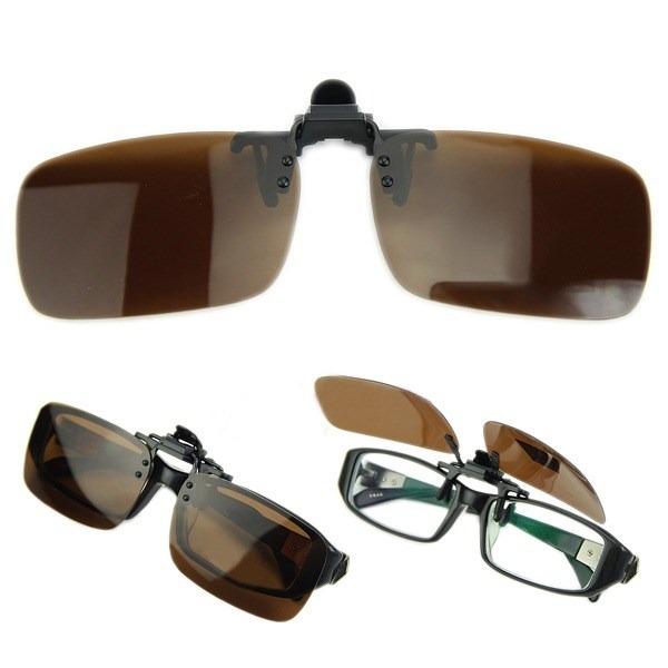 a973d9c32 Clip On De Sobrepor Óculos De Grau - Proteção Uv400 -ref:43 - R$ 99 ...