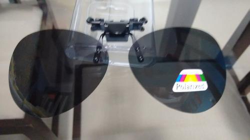 clip on de sobrepor óculos de grau - proteção uv400 -ref:43