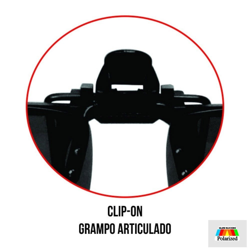 6bfee27df clip-on marine sports lente polarizada para óculos de grau. Carregando zoom.