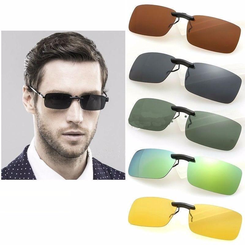136db76982b2d clip on óculos de grau discreto sobrepor proteção 400 u v. Carregando zoom.
