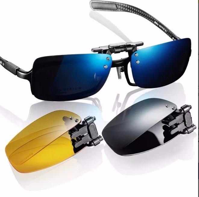 Clip On P  Óculos De Grau Barato Dobrável Sobrepor Original - R  59 ... c0735240d4