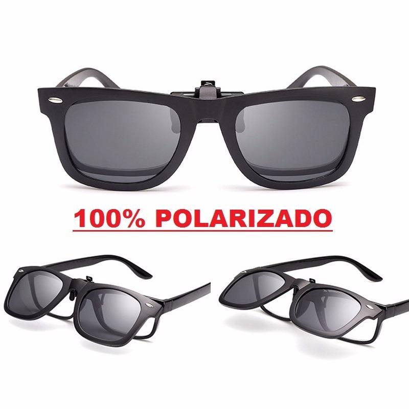 clip on p  sobrepor armação oculos de grau lente polarizada. Carregando  zoom. 718fe26f91