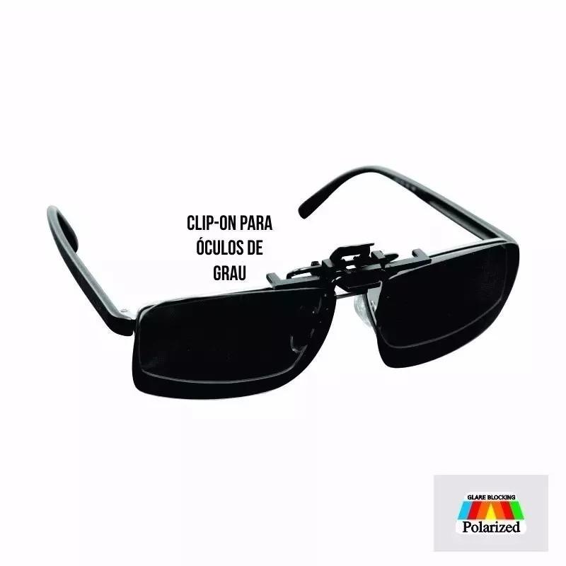 2e58b7241 Clip-on Polarizado P/ Óculos - Marine Sports Ms01-88 O Clip - R$ 39 ...