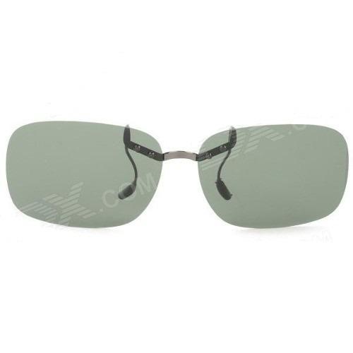 66852b346 Clip On Polarizado Sobrepor Óculos De Grau - Verde Escuro - R$ 125 ...