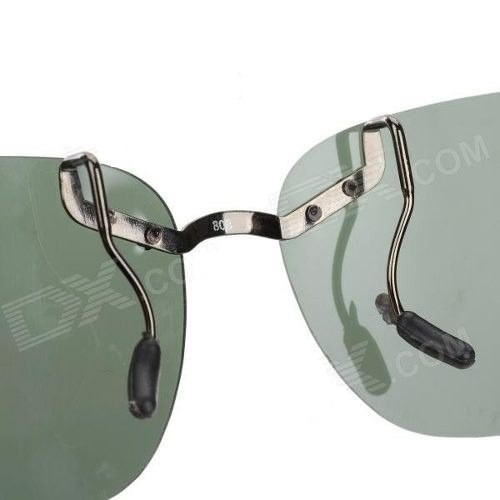 Clip-on Sobrepor Sobre Oculos Grau Polarizado Verde Escuro - R  135 ... 73ea2baab6