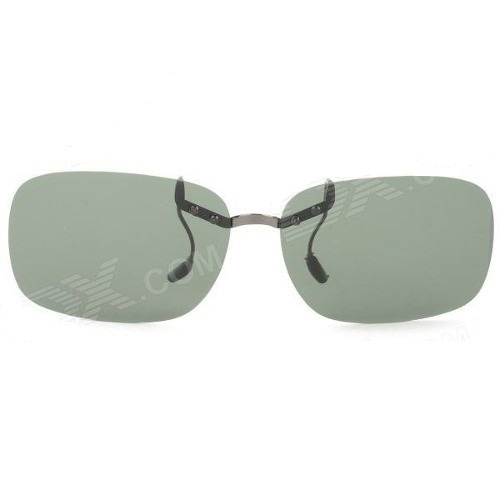 Clip-on Sobrepor Sobre Oculos Grau Polarizado Verde Escuro - R  135,00 em  Mercado Livre b41a0a0ed9