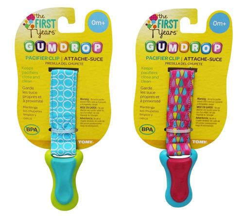 clip para chupón  gumdrop, the first years