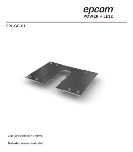 clip para conexión a tierra física