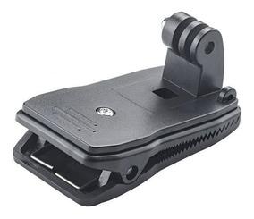 para GoPro HERO Cámaras rotación 360º Mochila Gorro Quick Release Clip Pinza