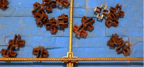clip plástico para armado de cerco de hormigón 500 unidades