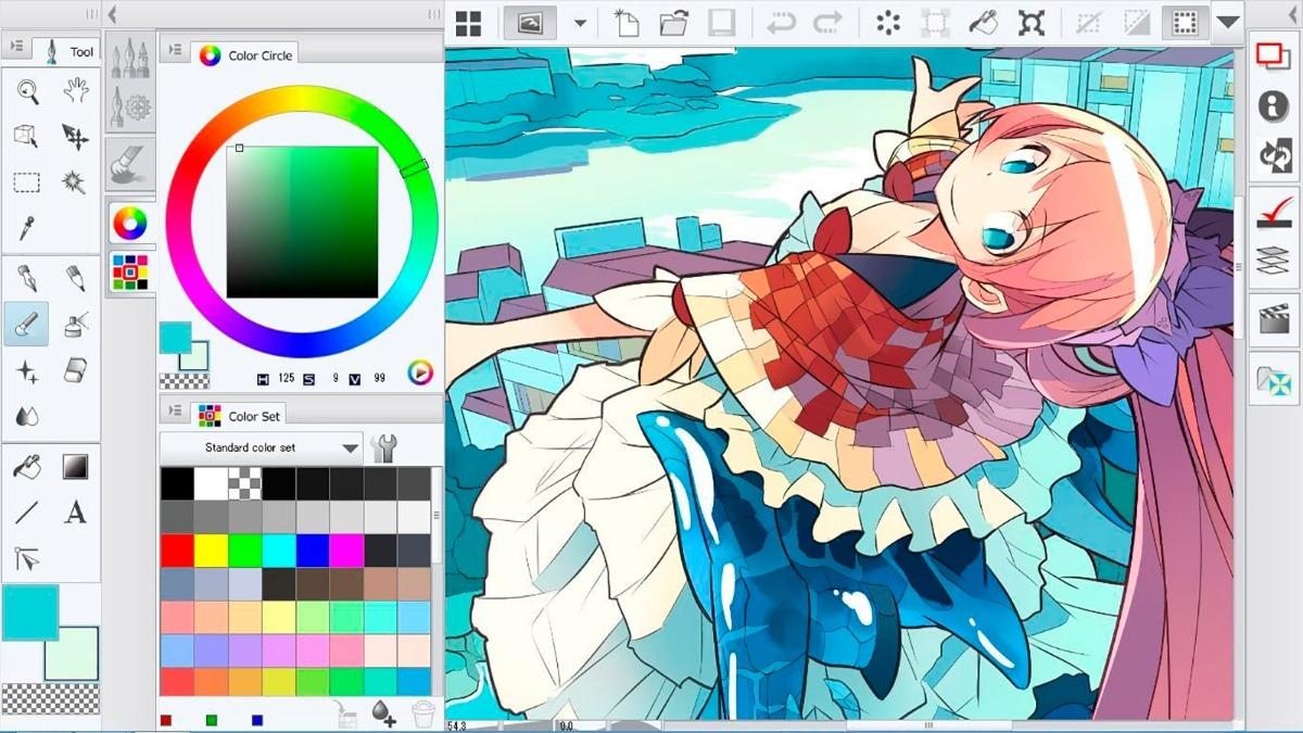 clip studio paint descargar gratis para pc