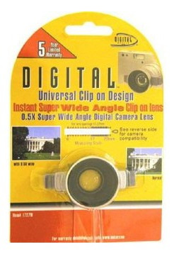 clip universal instantáneo p/lente gran angular 0,5x 17-27mm